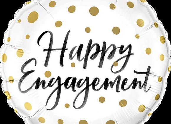 Happy Engagement - Qualatex Small Foil