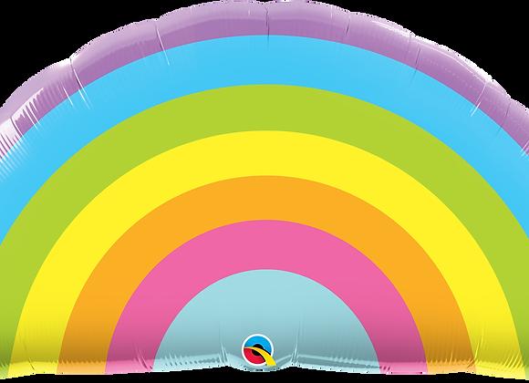 Radiant Rainbow - Qualatex Large Foil Balloon