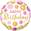 Thumbnail: Pink and Gold Happy Birthday - Qualatex Small Foil Balloon