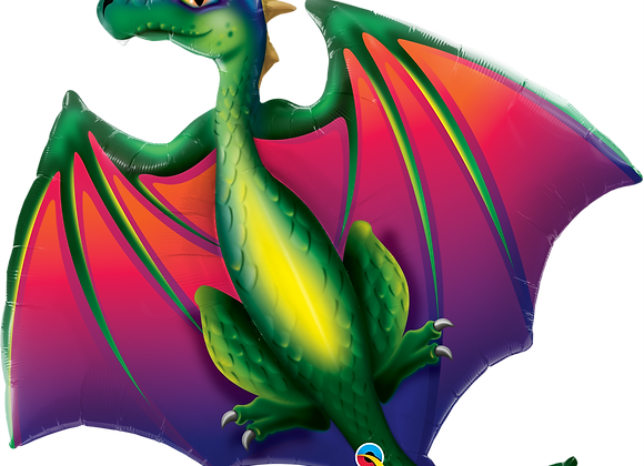 Dragon - Qualatex Large Foil Balloon