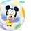 Thumbnail: Disney Baby Mickey - Qualatex Bubble Balloon