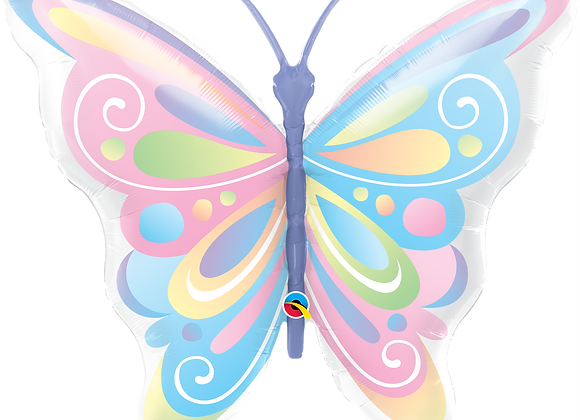Beautiful Butterfly - Qualatex Large Foil Balloon