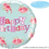 Thumbnail: Me to You - Happy Birthday - Bear and Rose - Qualatex Small Foil Balloon