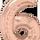 Thumbnail: Rose Gold - 6 - Qualatex Large Foil Balloon