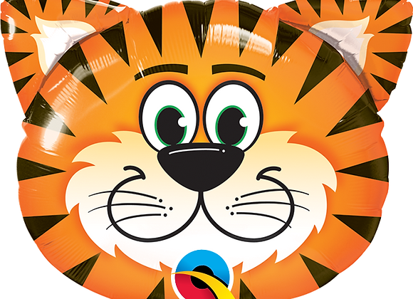 Tiger - Qualatex Large Foil Balloon