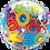 Thumbnail: 50 Brilliant Stars - Qualatex Bubble Balloon