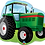 Thumbnail: Tractor - Qualatex Large Foil Balloon