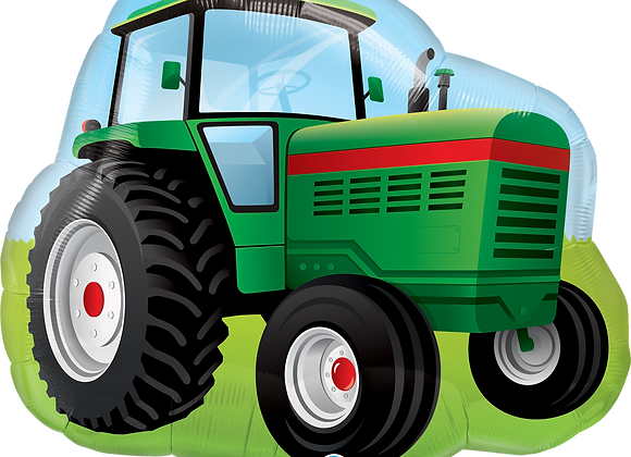 Tractor - Qualatex Large Foil Balloon