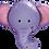 Thumbnail: Elephant - Qualatex Large Foil Balloon