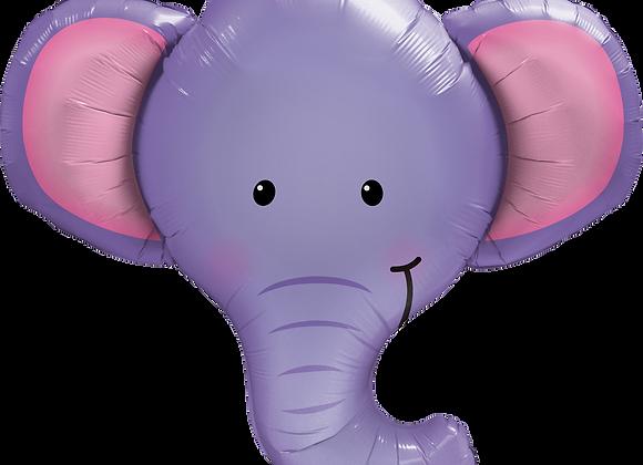 Elephant - Qualatex Large Foil Balloon