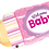 Thumbnail: Welcome Baby Bottle - Pink - Qualatex Large Foil Balloon