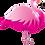 Thumbnail: Pink Flamingo - Qualatex Large Foil Balloon