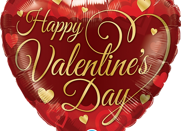 Valentines Day - Qualatex Small Foil