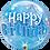 Thumbnail: Birthday Blue Starburst Sparkle - Qualatex Bubble Balloon