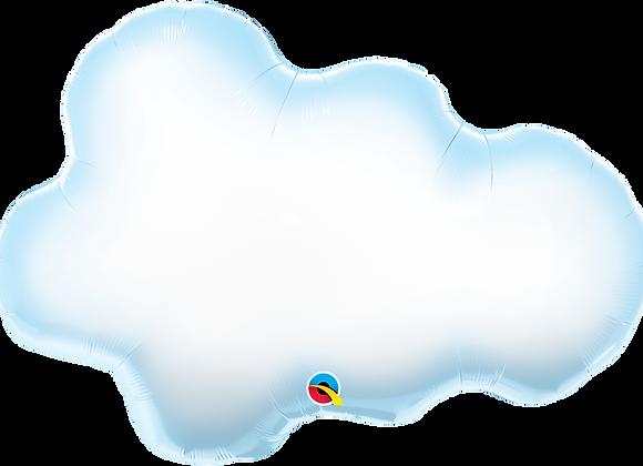 Clouds - Qualatex Large Foil Balloon