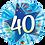 Thumbnail: Blue - 40 Shining Star Bright Blue -  Qualatex Small Foil Balloon