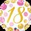 Thumbnail: Gold and Pink 18 - Qualatex Small Foil Balloon