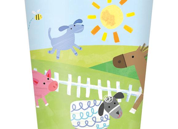 Paper Cups - Farm Party - Unique