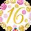Thumbnail: Gold and Pink 16 - Qualatex Small Foil Balloon