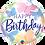 Thumbnail: Birthday Beautiful Butterflies - Qualatex Small Foil