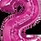 Thumbnail: Hot Pink - 2 - Qualatex Large Foil Balloon