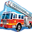 Thumbnail: Fire Engine - Qualatex Large Foil Balloon