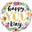 Thumbnail: Happy You Day - Multicoloured - Qualatex Small Foil Balloon