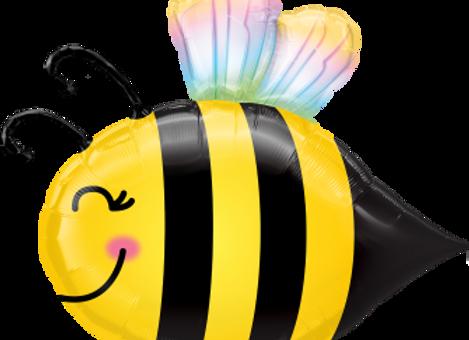 Bee - Qualatex Large Foil Balloon