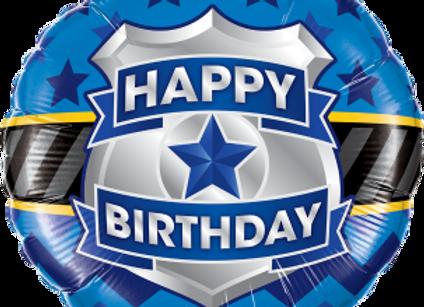 Birthday Badge  -  Qualatex Small Foil Balloon
