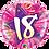Thumbnail: Pink - 18 - Shining Star Hot Pink -  Qualatex Small Foil Balloon