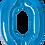 Thumbnail: Blue - 0 - Qualatex Large Foil Balloon