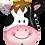 Thumbnail: Cow - Qualatex Large Foil Balloon