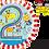 Thumbnail: Rachel Ellen - Giraffe and Monkey - 2 - Qualatex Small Foil Balloon