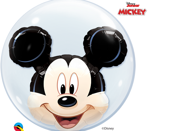 Disney Mickey Mouse - Qualatex Double Bubble Balloon