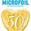 Thumbnail: 50th Anniversary Heart - Qualatex Small Foil Balloon