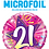 Thumbnail: Pink - 21 - Shining Star Hot Pink -  Qualatex Small Foil Balloon