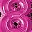 Thumbnail: Hot Pink - 8 - Qualatex Large Foil Balloon