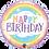 Thumbnail: Happy Birthday Rainbow -  Qualatex Small Foil Balloon