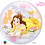 Thumbnail: Disney Princess Belle - Qualatex Bubble Balloon