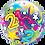 Thumbnail: 21 Brilliant Stars - Qualatex Bubble Balloon