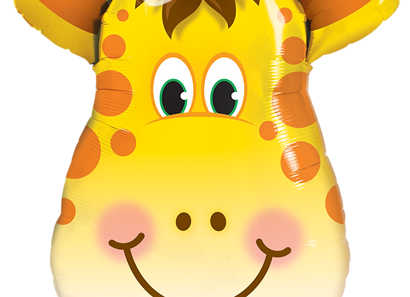 Giraffe - Qualatex Large Foil Balloon