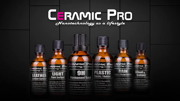 Ceramic Pro Products