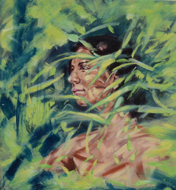 Escapism female portrait