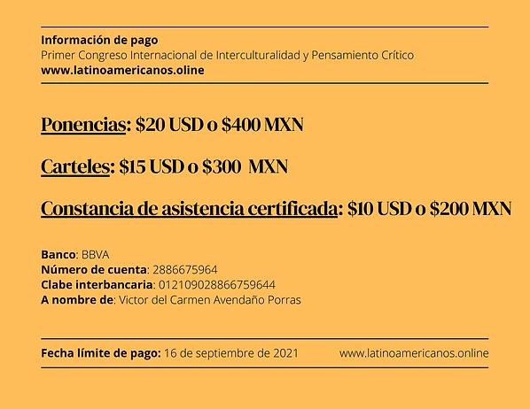 Primer Congreso Internacional de Interculturalidad y Pensamiento Crítico www.latinoamerica