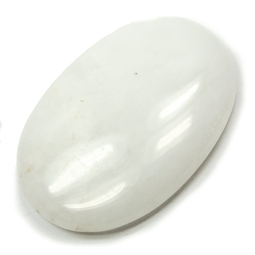 WHITE AVENTURINE CABOCHON
