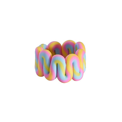 """""""Candy Curves"""" Ring"""