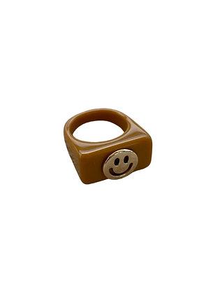 """Biggi Brown"" Ring"