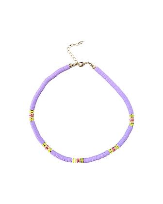"""Bali Beads Purple"" Halskette"