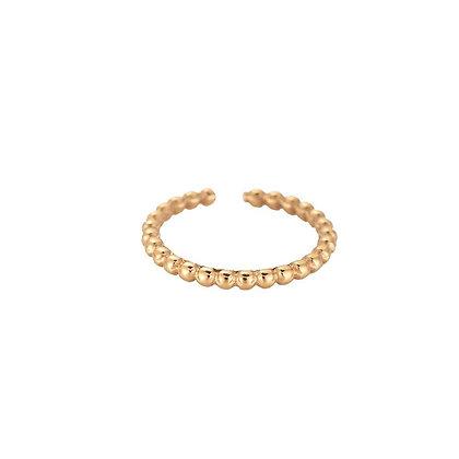 """Paola Gold"" Edelstahl Ring"
