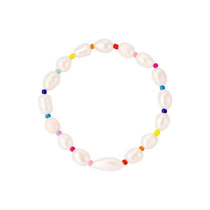 """Multi Pearl"" Armband"